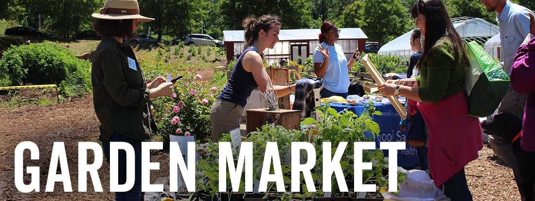 garden market vendors web page label