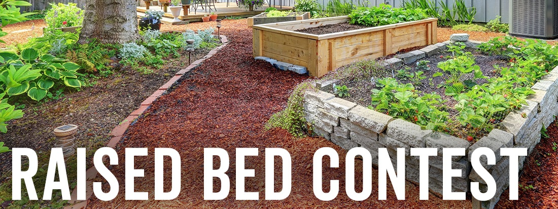 raised bed contest web page label